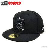 【キン肉マン】NEWERA×キン肉マン/59FIFTY/肉マーク40th(ブラック)