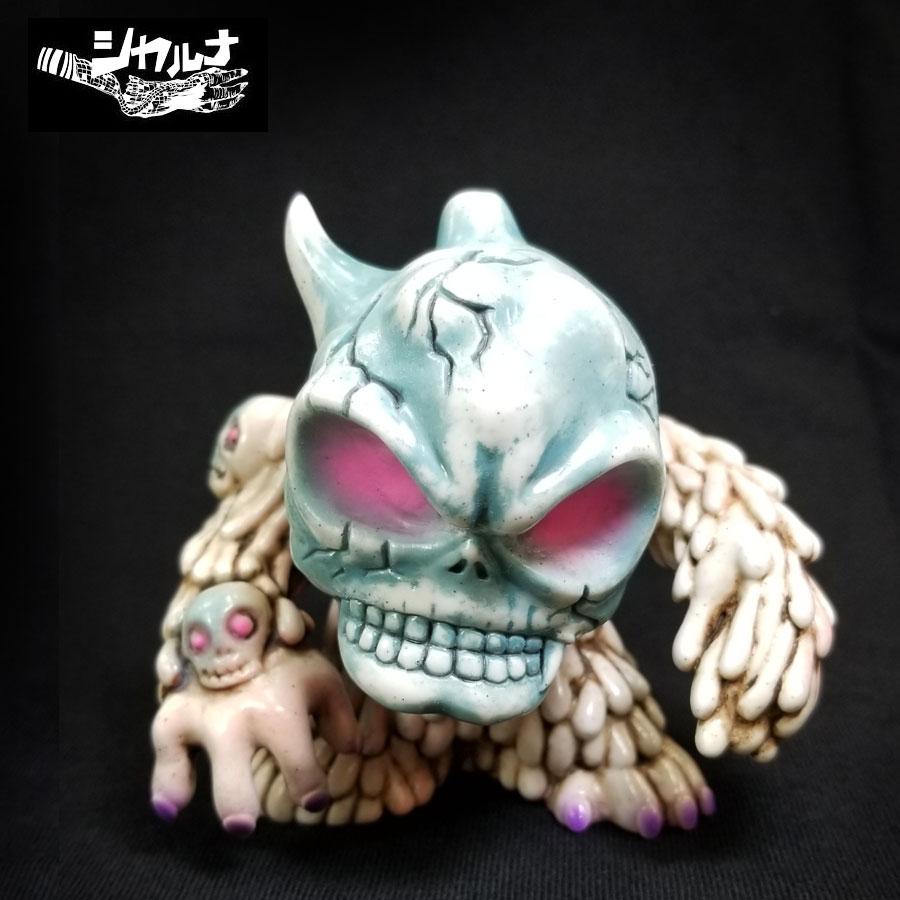 コレクション, ソフビ人形 SALEarktzCUBEStone-Pink EyesCUBE DROLL