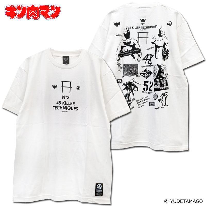 【キン肉マン】カメハメコラージュ Tシャツ/KINNIKUMAN MUSCLE APPAREL/マッスルアパレル