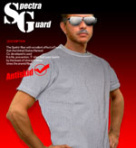 国内一の切創耐性 防刃Tシャツ防刃スペクトラ Tシャツ  Mサイズ