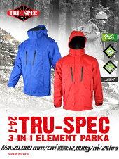送料無料トゥルースペック/TRU-SPECGen2型H2OECWCS全天候型パーカーS