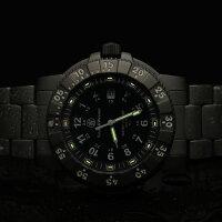 【正規品】スミス&ウェッソン/S&WミリタリーウォッチエグゼクティブH3発光トリチウム腕時計SW357T-BSS【送料無料】