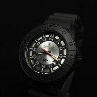 【正規品】スミス&ウェッソンS&WM&Pウォッチ発光トリチウム腕時計SWMP18gry【送料無料】