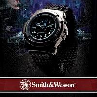 送料無料スミス&ウェッソン/S&Wミリタリーウォッチ腕時計SW11B-グロウ