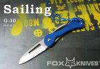 FOX/フォックス 01FX073 セイリング/G-10 ヨットマンナイフ