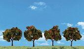 【全商品・全在庫】【正規品】WOODLANDSCENICS(ウッドランドシーニックス)完成樹木広葉樹紅葉色H約3-7.5cm9本入