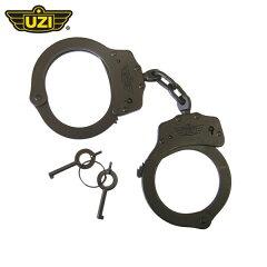 ウージー UZI ダブルロック ハンドカフ 手錠 ブラック UZI-CB