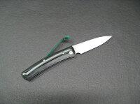 エムカスタ/MCUSTAKATANA刀ブラック/ブルーハンドルVG-10折りたたみナイフMC-0041c