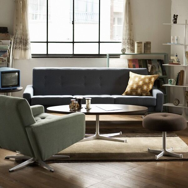 ソファ一人掛けソファーラウンジチェアリビングチェアーひとりがけコンパクト1人掛けソファーオフィスレトロナチュラル日本製西海岸風モダンカフェおしゃれ北欧1P高品質椅子デザイナーズ書斎リビング応接国産一人用ホテル高級緑レッド赤茶青