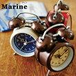 置き時計アンティークレトロ時計置時計おしゃれインテリア北欧CL-8950Marineテーブルクロック