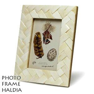 フォトフレーム 壁掛け アンティーク 写真立て 白 ホワイト 骨 スタンド ウォール ディスプレイ...