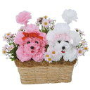 光触媒 カーネーション 母の日 フラワー フラワーアレンジメント 犬 観葉植物 花 おしゃれ …