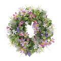 【玄関リース】春夏イメージのおしゃれな造花リース、玄関周りが華やかに見えるおすすめはどれ?