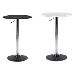 カウンターテーブルラウンド円形バーハイタイプカウンター高さ調節可能昇降式バーテーブルブラック/ホワイトハイテーブルガス圧BONDカウンターテーブルカフェAT-63バーカウンターテーブル丸テーブルおしゃれ