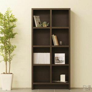 本棚 薄型 壁面収納 壁面 スリム ディスプレイラック CD 本収納 完成品 レトロ 木製 モダン デ...