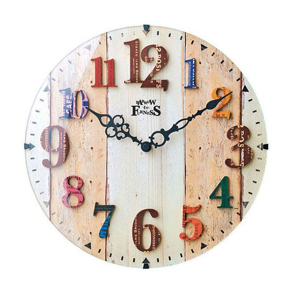 【楽天市場】電波時計 壁掛け アンティークの通販
