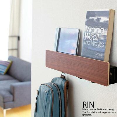 壁掛け ウォールシェルフ ウォールフック 木製 ラック フック 壁 棚 石膏ボード ウォールラ…
