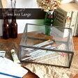ガラスケース ショーケース ディスプレイケース アンティーク コレクションケース ガラス 小物入れ 小物 収納 ケース ディスプレイボックス コレクションボックス ガラスショーケース おしゃれ オニ ボックス oni box L インテリア デザイン プレゼント