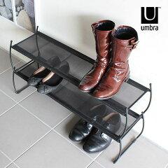 シューズラック 省スペース 2段 スリム 靴 靴 収納 下駄箱 簡易 グッズ アイデア おしゃれ 薄型...