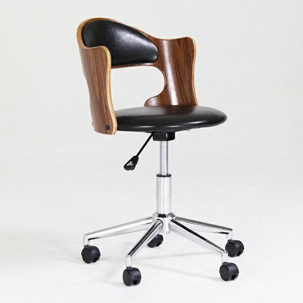 キャスター付き椅子 デスクチェア おしゃれ 椅子 キャスター 昇降チェア 肘掛け 肘掛 デスクチェアー 木製 チェア 木 キャスター付き 高さ調節 昇降式 おすすめ デザインチェア オフィスチェア インテリア イス いす アンティーク ウォールナット 北欧 ナチュラル