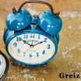 置き時計アンティークレトロ時計置時計おしゃれインテリア北欧CL-9375Greizテーブルクロック