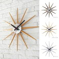 壁掛け時計Atras2-clockTK-2074アトラスブラウン/ナチュラル/ホワイトウォールクロック木製アートワークスタジオ