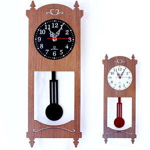 柱時計 アンティーク 掛け時計 振り子時計 振り子 時計 壁掛け 木製 レトロ 壁かけ時計 壁掛け...