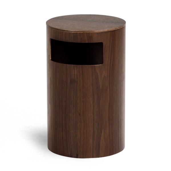 ゴミ箱 ごみ箱 ふた付き 木製 ダストボックス saito wood ナチュラル 蓋付きゴミ箱 ゴミ箱 ふた付き ごみばこ ゴミばこ おしゃれ 北欧 リビング ダイニング ダストボックス 送料無料 ダストBOX サイトーウッド 990WN TABLE&DUST BOX ウォールナット