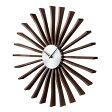 掛け時計 デザイナーズ時計 アナログ 時計 壁掛け 壁時計 おしゃれ ジェネリック家具 デザイナーズ Flutter Clock フラッタークロック GN001 ジョージネルソン George Nelson ネルソンクロック 復刻版 壁掛け時計 太陽 デザイナー デザイン時計 デザインクロック 送料無料