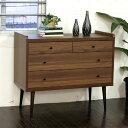チェスト 3段 完成品 アンティーク 家具 ミッドセンチュリー カントリー 日本製 木製 収納家具 ...