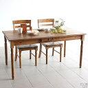 ダイニングテーブル アンティーク 無垢 150 150cm カフェテー...