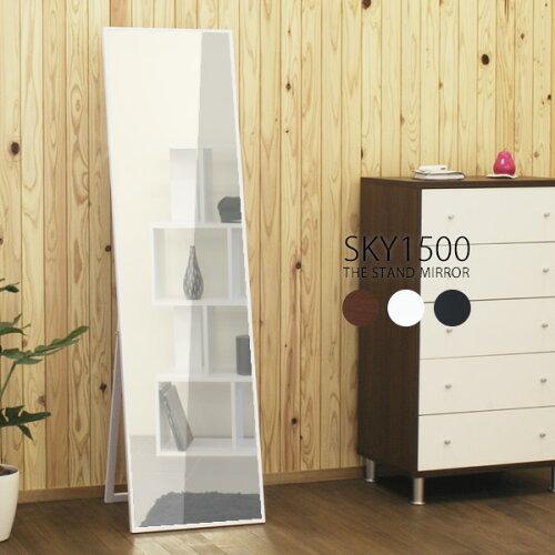 スタンドミラー 全身 鏡 姿見 ワイド ミラー スタンド 木製 全身鏡 全身ミラー 大型 薄型 スリム ...