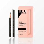 UZU(ウズ)アイオープニングライナーブラック/フローフシモテライナーアイラインBLACK黒