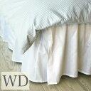 ベッドスカート ワイドダブル/ベーシック ベッドスカート ワイドダブル ベッド スカート日本サイズ仕様/ ベッドカバーワイドダブルベッド用|布団カバー フリル ベッドスプレッド ボックスシーツ ボックス シーツ ベッドシーツ ホワイト 白 かわいい おしゃれ 寝具 ホテル