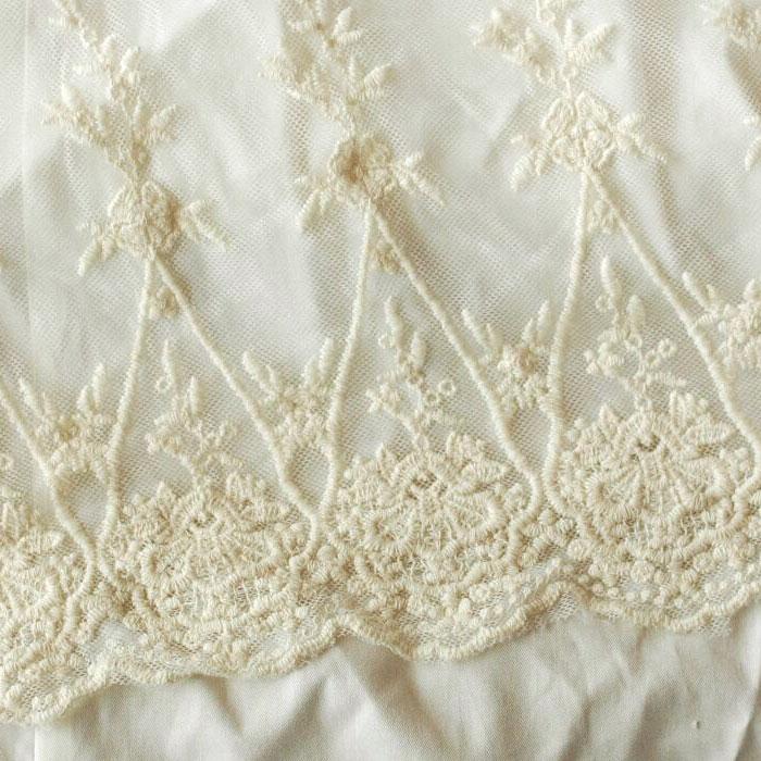 ビンテージレースベッドスカート(ベットスカート)日本サイズ仕様/キング フリル45cm キングサイズ用 ボトムカバー|アンティークレース フリル ベッドスプレッド シーツ ベッドシーツ ホワイト 白 かわいい おしゃれ 寝具 ホテル