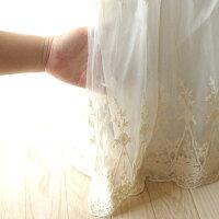 ビンテージレースベッドスカート