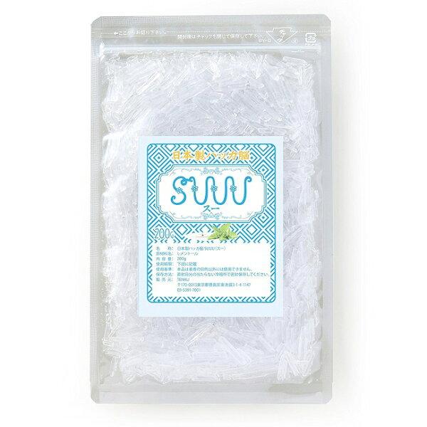 【日本製】ハッカ脳200g(ハッカ油のSUUU)【ハッカ結晶メントールクリスタル】