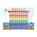数字 学習ポスター A3サイズ (420×297mm)【日本製 知育玩具 A3 ポスター 学習ポスター】