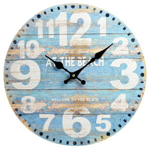 掛け時計 ウォールディスプレイオブジェ アナログ アラビア アンティーク インテリア おしゃれ ウォール クロック ラウンド