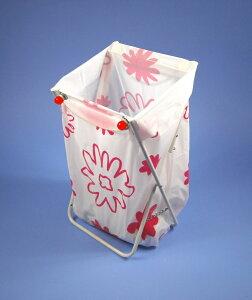 市販のゴミ袋をマグネットで固定するだけ 大木製作所マグネット付 ゴミ袋スタンド (ホワイ...