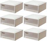 天馬 フィッツケース ワイド【お買い得6個セット】収納ケースといえばFitsケースリビング収納シリーズ