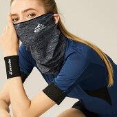 耳出しで音楽やサングラスを邪魔しない、ジョギングでずり落ちない夏マスク。冷感UPF50+涼感紫外線カット吸水蒸発フェイスマスク耳だしクールかっこいい男女共用