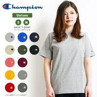 Champion(チャンピオン)Tシャツ無地CロゴカットソーワンポイントTシャツ18SSベーシック(c3-h359)