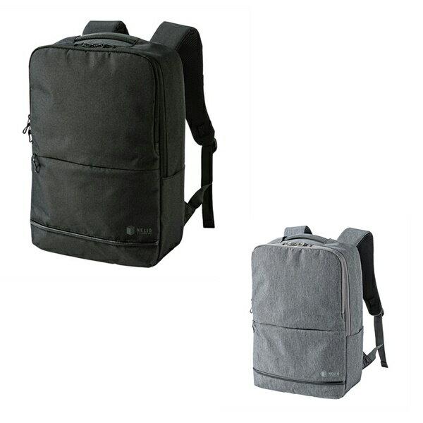バックパック スタイリッシュ ビジネスバッグ SABAG-BP16 軽量 カジュアル カラー ブラックorグレー ポリエステル生地 送料無料