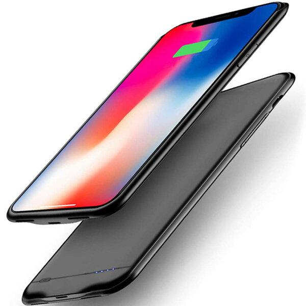 iPhoneXSMaxバッテリーiPhoneXSMax6.5インチバッテリー内蔵ケース6800mAh大容量超軽量薄型ケース型バッ
