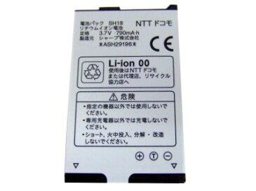 【中古】シャープ NTT docomo 純正電池パック SH18(SH906iTV,SH-04A)