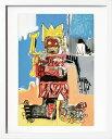 アートパネル アートポスター 絵画 インテリア ポスター タペストリー 壁掛け アートフレーム ウォールアート アートボード ポップアート モノトーン モノクロ デザイナーズ アンティーク シンプル モダン 北欧 おしゃれジャン ミシェル バスキア Untitled