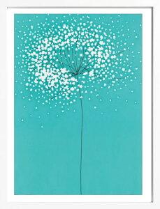 【ラッピング無料・送料無料・ポイント増量中】繊細な北欧風デザインのフレンチアートポスター...