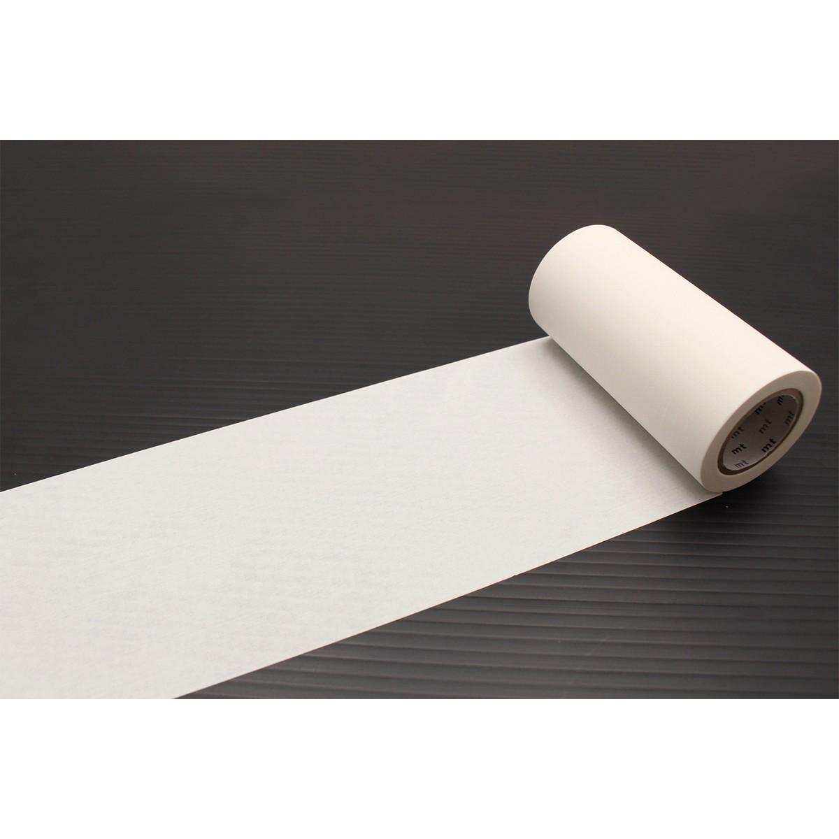 カモ井加工紙 mt CASA 100mm マットホワイト MTCA1086 100mm×10m カモ井 mt mt マスキングテープ マステ マスキング 紙テープ 和紙テープ 貼って剥がせる はってはがせる 貼ってはが