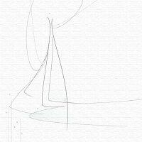 【アートデリ】「シンの輪郭」のファブリックパネル